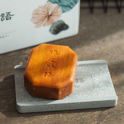 牛樟芝沐浴精華皂