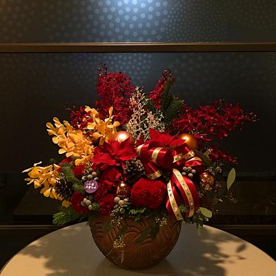 小薇花藝工坊SWFLORIST聖誕節花藝布置