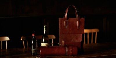 本革九號製所,酒套,紅酒,威士忌,烈酒,紅酒套,紅酒袋,提袋,飲料,真皮,品酒,皮革