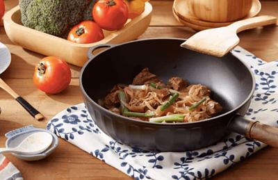 鑄鐵鍋炒菜