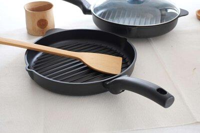 平底鑄鐵鍋料理