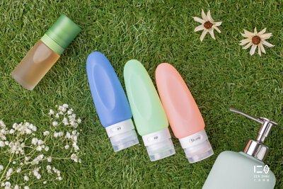 純色矽晶優雅瓶身,讓大瓶變小瓶陪你去旅行, 多種容量供組合收納,節省行李空間好輕便,