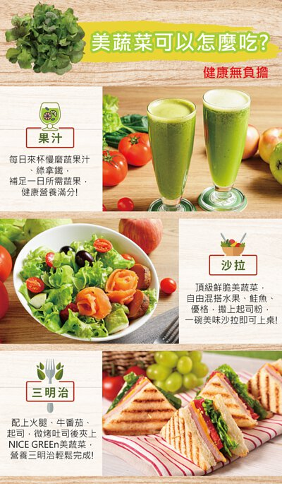 多種吃法 營養滿分