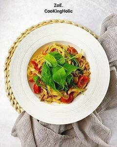 芝麻葉義大利麵