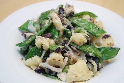 黑豆和風馬鈴薯沙拉,做法,食譜, 家常菜, 煮餸,食療,馬鈴薯,黑豆,沙律,素食, 素食食譜