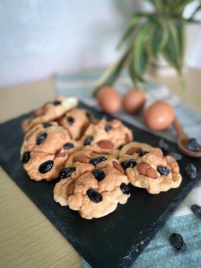 黑豆雲朵麵包,香草黑豆, 鷹粟粉, 黑豆, 食譜, 家常菜, 煮餸, 杏仁, 蛋白麵包, 麵包
