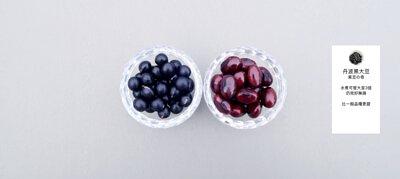 丹波黑大豆,黑豆之奇,水煮可發大至3倍,仍完好無損,比一般品種更甜。