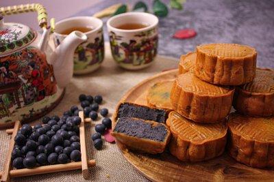 竹炭黑豆沙月餅,月餅,黑豆,豆沙,食譜,做法,自家製,diy,低筋面粉,竹炭黑豆,煮餸