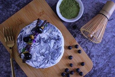 蜜漬黑豆抺茶豆腐芝士蛋糕,芝士蛋糕,抺茶,豆腐,蜜漬黑豆,黑豆,甜品,忌廉芝士 ,自家製,diy,做法,食譜