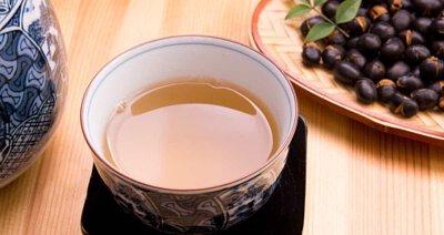 丹波黑豆茶, 黑豆水
