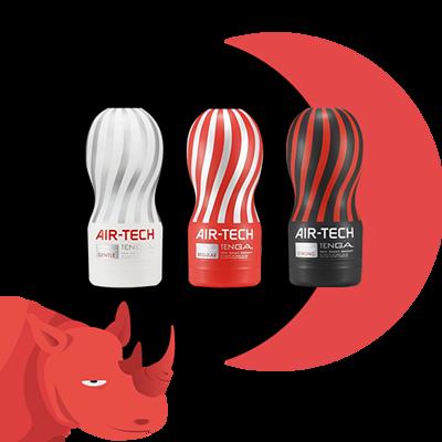 飛機杯 tenga air tech 情趣用品 紅犀牛