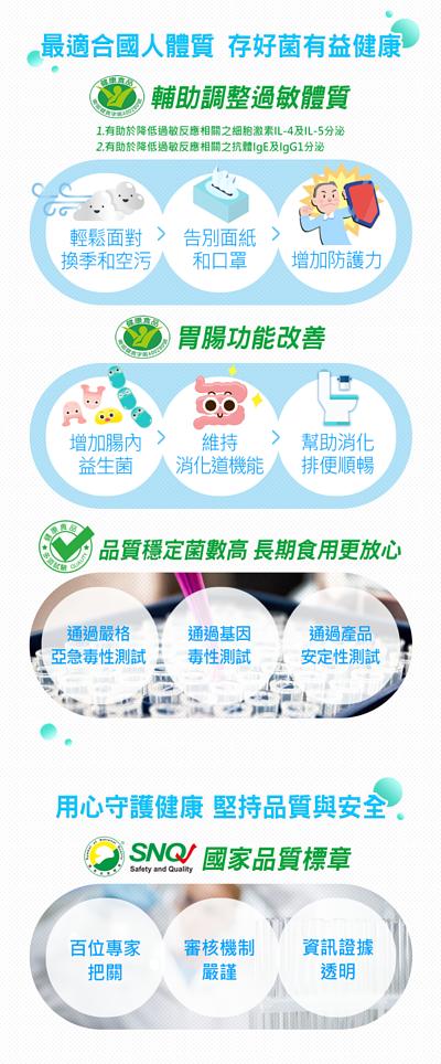 萃益敏益生菌最適合台灣人的益生菌品牌