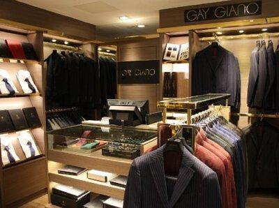 Causeway Bay SOGO GAY GIANO Concept store
