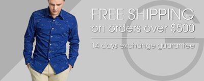free shipping and 14days exchange guarantee- gay giano