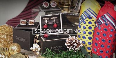Gay Giano, Men's wear, Wallet, Cufflinks, Christmas Gift, gift