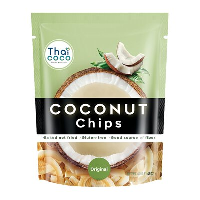 【Thai Coco】脆烤椰子片-原味