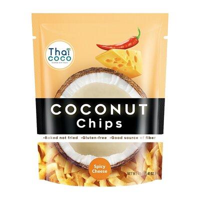 【Thai Coco】脆烤椰子片-香辣起司