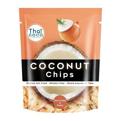 【Thai Coco】脆烤椰子片-洋蔥酸奶