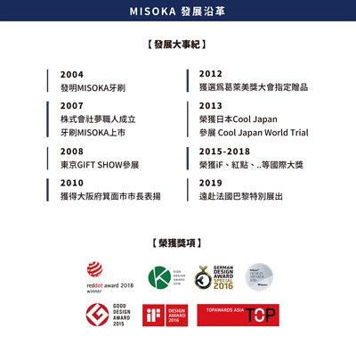 2007株式會社夢職人成立 牙刷MISOKA上市,2012獲選為葛萊美獎大會指定贈品,2015-2018榮獲iF設計大獎、紅點設計大獎