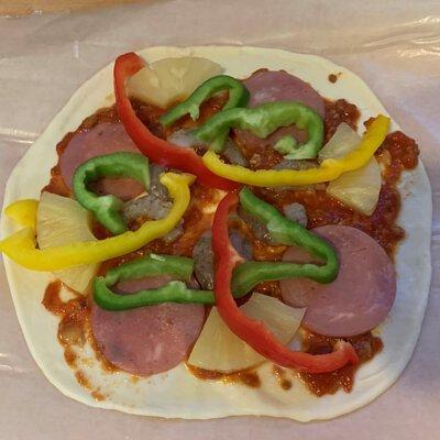 腰果披薩材料