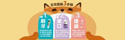 潔牙護齒三步驟