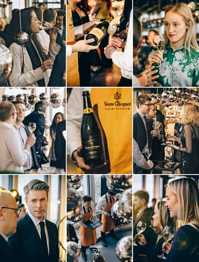 the occasion of the international launch of Extra Brut Extra Old