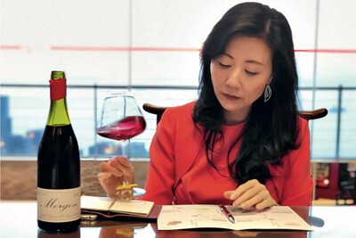 Master of Wine Professor Jeannie Cho Lee