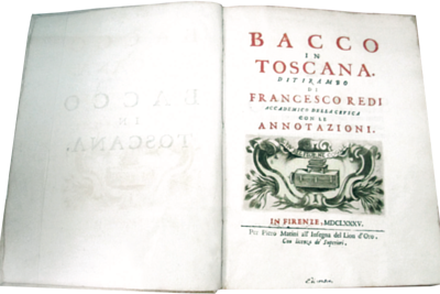 Bacchus in Tuscany