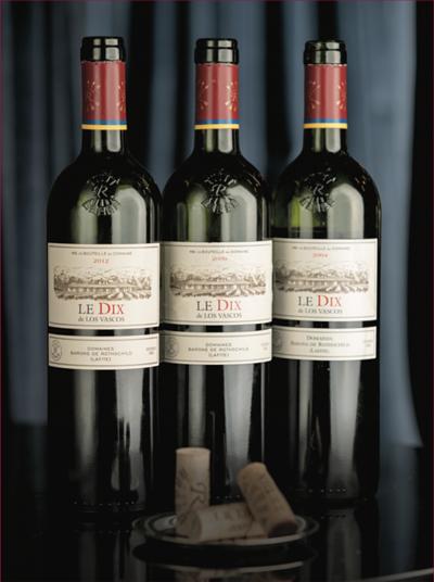 Le Dix de Los Vascos (2012, 2009, 2004) from Colchagua Valley, Chile