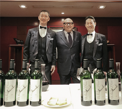 Zanella has a great respect for Japanese Sommeliers