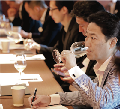 Japanese Sommeliers have high standards