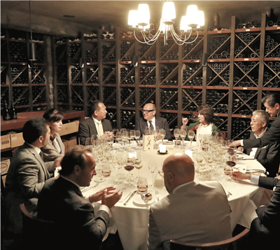 an exclusive dinner at The Cellar in MO Tokyo