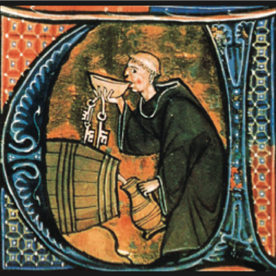 "a miniature taken from ""Li livres dou santé"" by Aldobrandino of Siena"