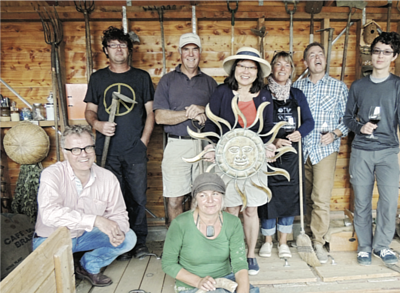 the biodynamic team in New Zealand