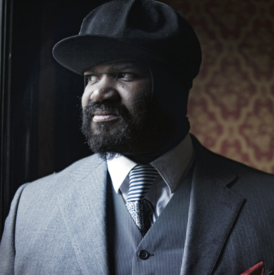 Gregory Porter, one of the Jazz vocalists whose songs are honorably selected to pair with the Krug Brut Vintage 2002.