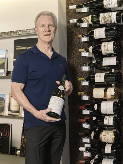 Allen Meadows, American critic, expert on Burgundy and publisher of Burghound.com website and quarterly newslette