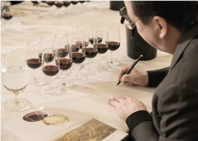 12 wines from the best Blaufränkisch producers in Austria were sent over to Hong Kong for the tasting