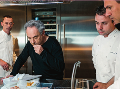 Ferran Adrià: considered the best chef of the last decade