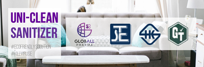 Globall uni-clean sanitizer