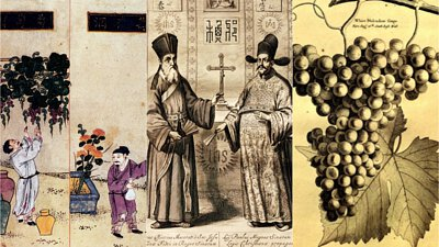wine history in China