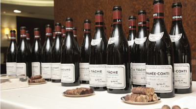 DRC, taste any wine from Domaine de la Romanee-Conti
