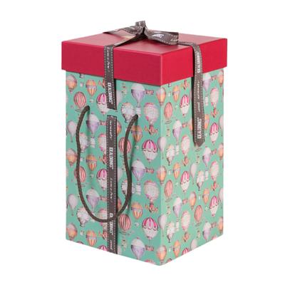 IDEALDRRINKS Balloon hamper box (4 bottles)