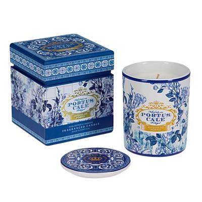 Castelbel Portus Cale Fragranced Candle Gold & Blue