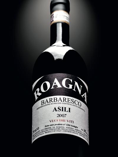 the best Italian wine, Roagna, Barbaresco