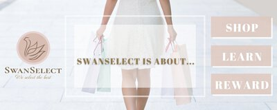 SwanSelect is about SHOP, LEARN, REWARD