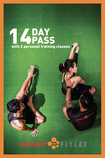 eliment FitLax Fitness Centre 14Day Gym Pass