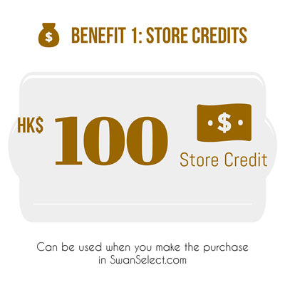 SwanSelect New Sign Up $100 Store Credit