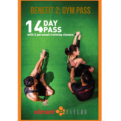 SwanSelect New Sign Up 14Day Gym Pass Eliment FitLax
