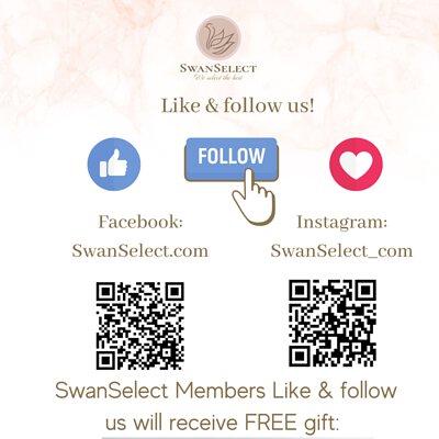 Like & Follow SwanSelect.com Facebook & Instagram Free AQUA PRO+TECH 10ml sanitizer