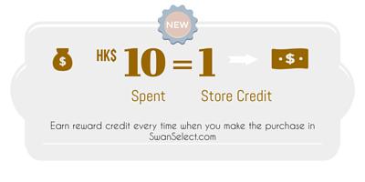 SwanSelect.com store credit